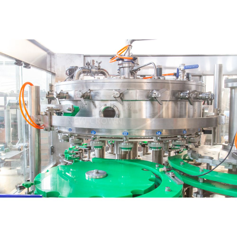 8000cph beer Canning Filling Machine